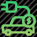 car, charging car, electric, vehicle