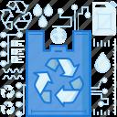 arrow, arrows, bag, ecology, environment, recycle