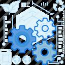 ecology, gear, maintenance, options, preferences, settings