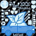 car, ecology, green, leaf, nature, plant, vehicle