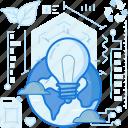 bulb, energy, global, globe, light, lightbulb, power