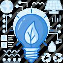 ecology, green, light, lightbulb, nature, panel, solar