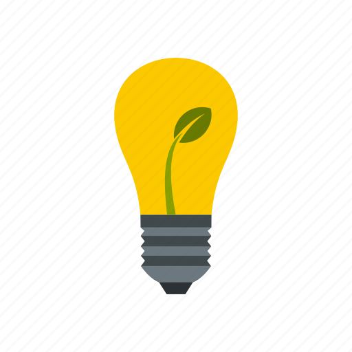 bulb, concept, eco, energy, idea, lamp, light icon