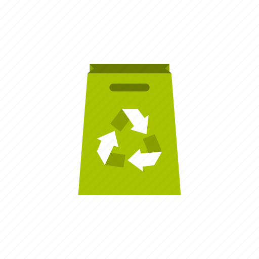 ecology, handle, package, recycle, recycling, retail, store icon