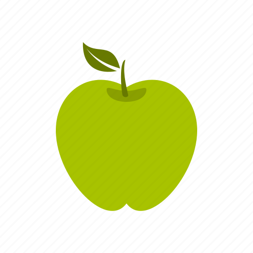 apple, food, fruit, healthy, leaf, nature, tasty icon