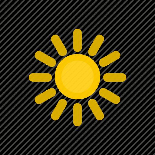 nature, summer, sun, sunlight, sunny, sunshine, weather icon