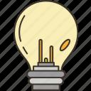 lightbulb, electricity, light, energy, power