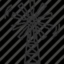 windmill, wind, energy, alternative, turbine