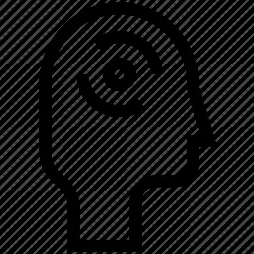 brain, brainstorm, ecology, idea, mind icon