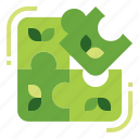 eco, ecology, research, solution icon