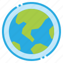 earth, layer, ozone, planet, world icon