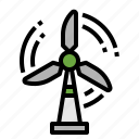 eco, ecology, energy, wind icon