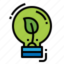 creative, green, idea, thinking icon