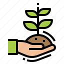 eco, ecology, plant, sprout icon