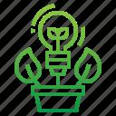 creative, green, idea, thinking