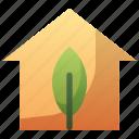 eco, green, home, house, nature