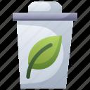 bin, eco, garbage, green, organic, waste