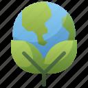 day, earth, eco, global, globe, green, leaf