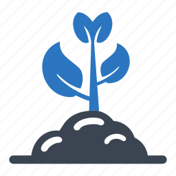 earth day, ecology, energy, gardening, growing, plant icon