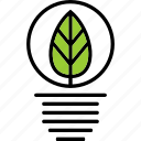 ecology, energy, leaf, nature icon
