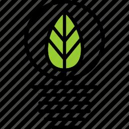 ecology, energy, leaf, nature icon