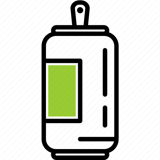 can, ecology, recycle icon
