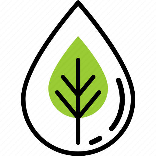 ecology, fresh, nature, water icon