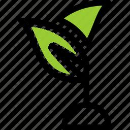 ecology, leaf, nature icon