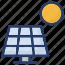 pv panel, solar electricity, solar energy, solar panel, solar plate icon