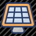 renewable energy, solar electricity, solar energy, solar panels, solar power icon