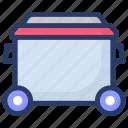 coal cart, coal mine, coal mining, minecart, mining process icon