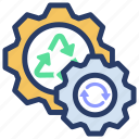 electric power, electric wheel, energy gear, energy process, energy setting icon