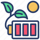 battery charging, battery level, charging battery, charging cells, power unit icon