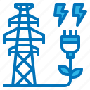 clean, ecology, electricity, power, tower