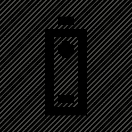 battery, ecology, energy, environmental, nature, poles, protection icon