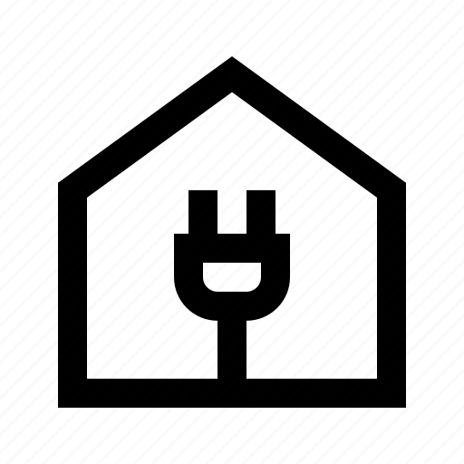 ecology, electricity, energy, environmental, house, nature, protection icon