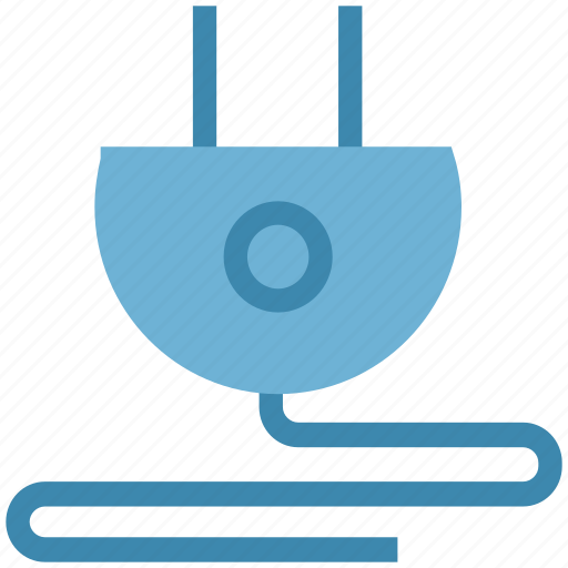 cable, electric, plug, power line, power plug, power supply icon