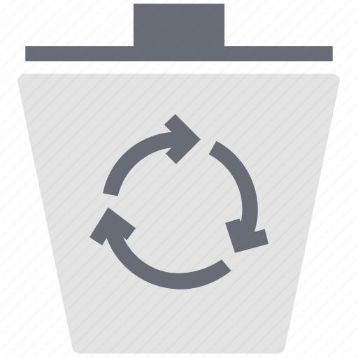 environment, garbage bin, recycle bin, recycling, symbol icon