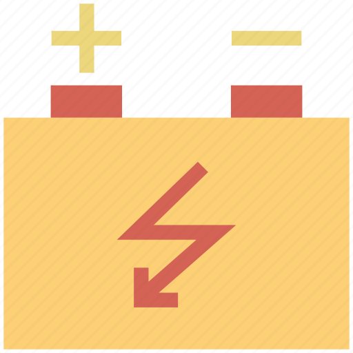 battery, car battery, charging, sign, symbol icon
