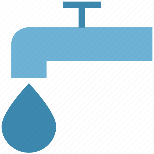 dripping tap, drop, faucet, tap, water, water tap icon