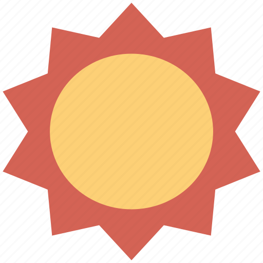 day, heat-temperature, hot, shiny, sun, sunlight, sunny, weather icon