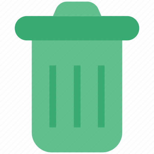 cleaning, dustbin, garbage bin, garbage can, recycling bin, trash can icon