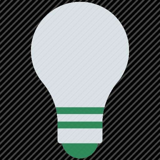 bulb, electricity, light, light bulb, lighting equipment icon
