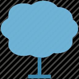 generic tree, maple, nature, shrub tree, tree icon