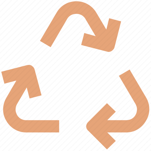clean, environmentalist, pollution, recycling, recycling symbol, sign icon