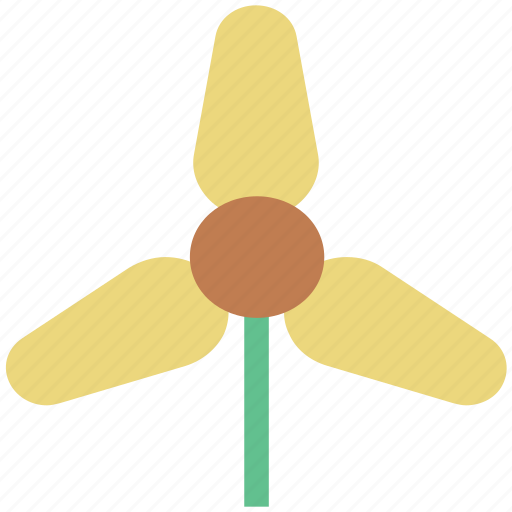 climate, environment, generator, turbine, wind power, wind turbine, windmill icon