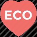 eco, eco heart logo, eco leaf icon, eco sign, eco word