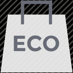bag, eco bag, recycle, reusable, reusable bag, shopping bag icon