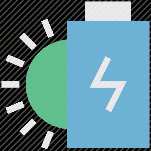 charging, power supply, solar, solar charging, solar energy, solar power icon