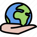 earth, ecology, global, globe, planet, world icon